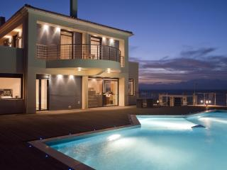 Villa Sun holiday vacation villa rental greece, crete, sea views, pool, near Cha