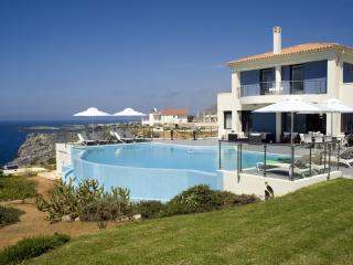 Villa Moon holiday vacation villa rental greece, crete, sea views, pool, near, Chania