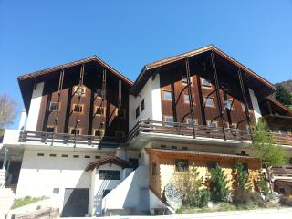 southern face of chalets les Fares