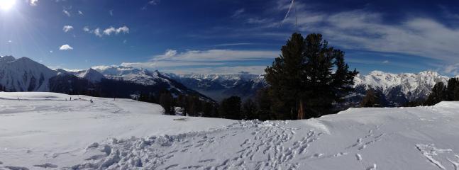 Panorama on the mountain