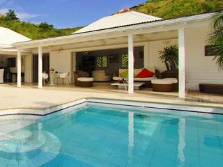 Ylang Ylang at Flamands, St. Barth - Ocean View, Large and Sunny Deck, Pool