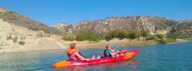 Kayaking tours available.
