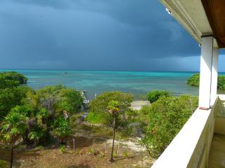 House; Oceanfront, Secluded, Off-grid with Electricity, Wi-Fi, & Fabulous Views!, Caye Caulker