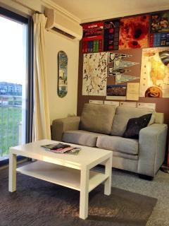 Sofa-bed sitting area