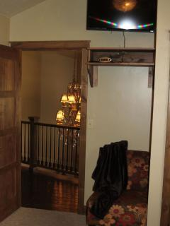 Spare room entrance.