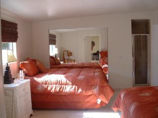 Back bedroom has 2 queen beds and in suite