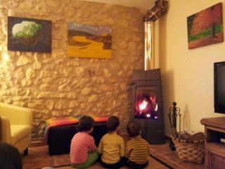 Salon de casa rural Basaula