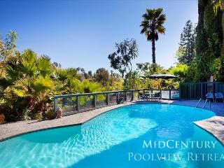 MidCentury Poolview Retreat, Los Angeles