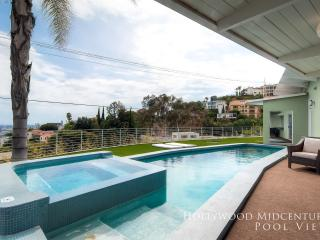 Hollywood Mid-Century Pool View