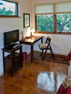 desk area upstairs