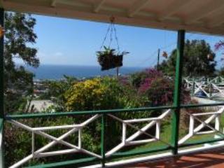 Vista desde la terraza de la casa principal