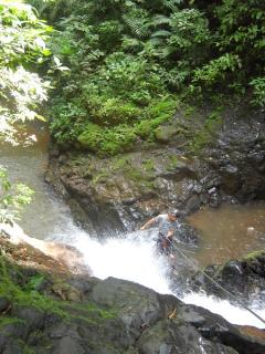 Extreme waterfall exploring ask for more info owner of the house