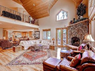 Hickory and Stone Lodge Luxury Home Hot Tub Breckenridge House Rental