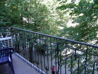 the apartment with a balcony on Deribasovskaya St, Odesa