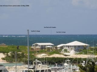 Property from the SW near Sea Spray Marina.