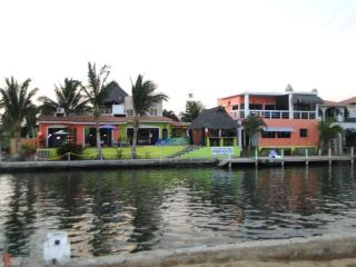 Villa from water