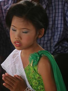 A Thai village wedding