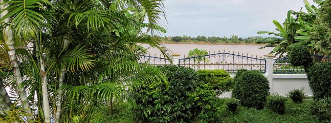 The Mekong River and Laos from the Terrace