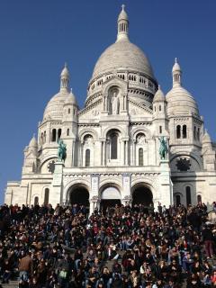 The distric : le Sacré-coeur at 8 minutes