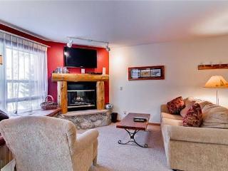 Comfortably Furnished Breckenridge 1 Bedroom Ski-in - E217F