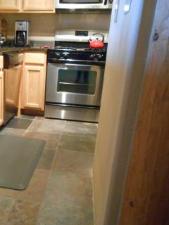 Side view, Kitchen