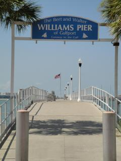 Gulfport's fishing pier on Boca Ciega Bay