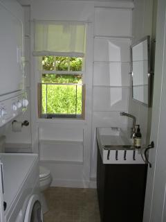 Half Bath + Laundry