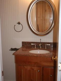 Custom Cherry bathroom vanity