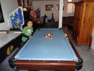Pool Table & Air Hockey