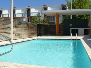 Pool with gazebo