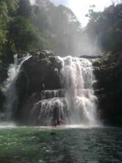 Nayauca Waterfalls close by