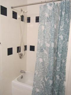 Second Bedroom small tub & shower
