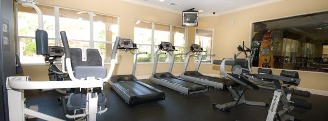 club house fitness room