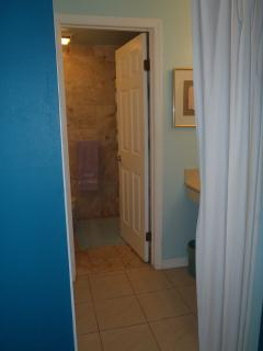 Check out the split en-suite master bath and walk-in closet.