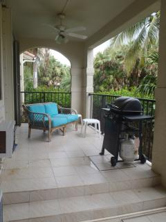 Check out the awesome relaxation space (and grill) on the split level patio.