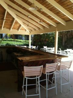 If you'd like to have a larger party, reserve the cabana area by the pool.