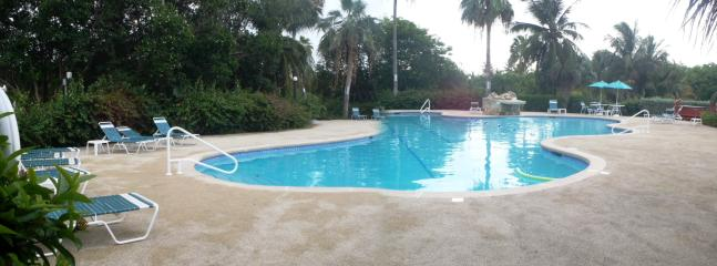 Relax by this beautiful private pool (private to the condo complex) and hot tub.