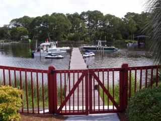 Private Dock, Ground Floor, Poolside, Walk to Beach, Panama City Beach