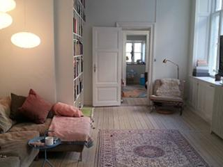 Spacious Copenhagen apartment near Vesterport station