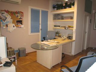 2 room office +wc with 1 bedroom , kitchen +bathr.