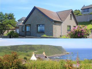 Crow's Nest is a large house with spectacular sea views.