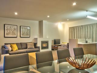 Top level - dining and living spaces