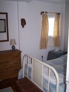 All three bedrooms are funished with antiques and textiles from the martimes and Quebec
