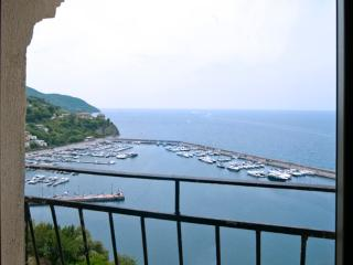 From our terrace a beautiful view of Amalfi coast, Agropoli