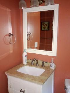 Beautifully remodeled 1st floor bathroom