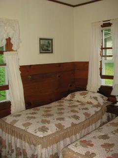 twin bed bedroom