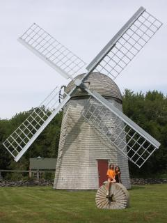 Jamestown Windmill - Windmill day is usually held in July