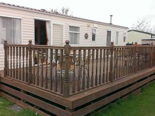 6 Berth Caravan Marine holiday park in Rhyl north