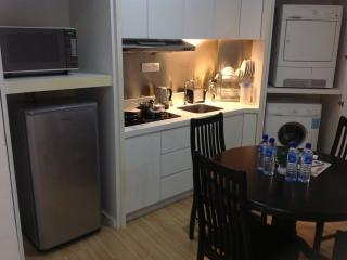Kitchen of full set of kitchenette