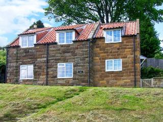 CHRISTMAS COTTAGE, pet-friendly stone cottage with woodburner, village setting in Glaisdale Ref 26993